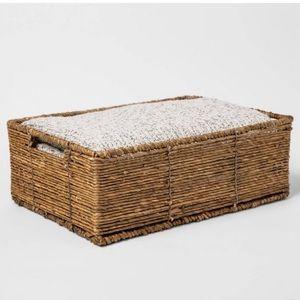 "17"" x 12"" x 6"" Folio Bin Threshold Storage basket"